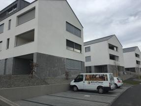3 MFH Hochdorf 28 Wohnungen Parkett verlegen, Auftrags blgp architekten ag